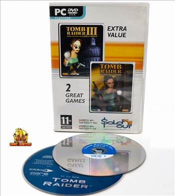 Tomb Raider Adventures of Lara Croft & The Last Revelations  Case & Discs (one is double sided).jpg by GSGAMEHUNTERS