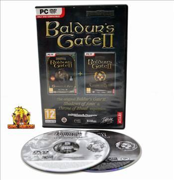 Baldur's Gate II Shadows of Amn & Throne oif Bhaal Expansion pack Case & Discs.jpg by GSGAMEHUNTERS