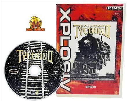 Railroad Tycoon II Case & Disc.jpg by GSGAMEHUNTERS