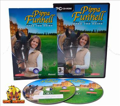 Pippa Funnell Take the Reins Case, Manual & Discs.jpg by GSGAMEHUNTERS