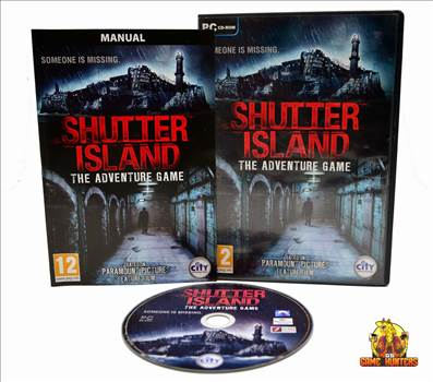 Shutter Island The Adventure Game Case, Manual & Disc.jpg by GSGAMEHUNTERS