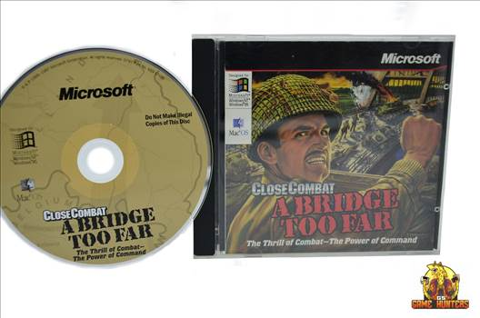 Close Combat A Bridge too Far Jewel case & Disc.jpg by GSGAMEHUNTERS