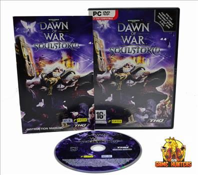 Dawn of War Soulstorm Case, Manual & Disc.jpg by GSGAMEHUNTERS