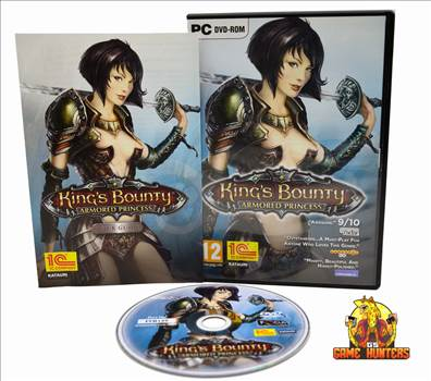 King's Bounty Amored Princess Case, Manual & Disc.jpg by GSGAMEHUNTERS