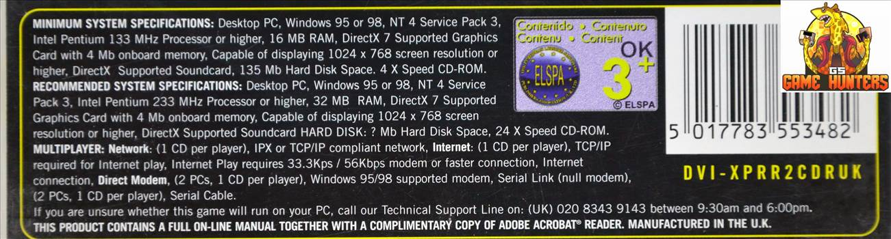 Railroad Tycoon II Sysyem Requirements.jpg by GSGAMEHUNTERS