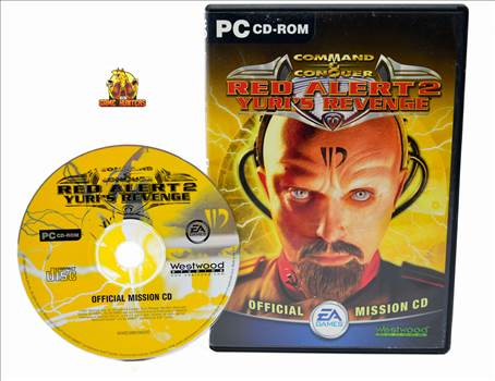 Command & Conquer Red Alert 2 Yuris Revenge Case & Disc.jpg by GSGAMEHUNTERS