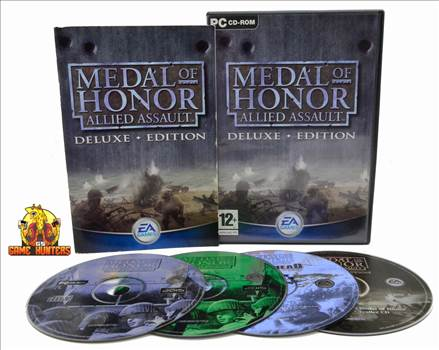 Medal of Honor Allied Assault Breakthrough Expansion Pack Case, Manual & Discs.jpg by GSGAMEHUNTERS
