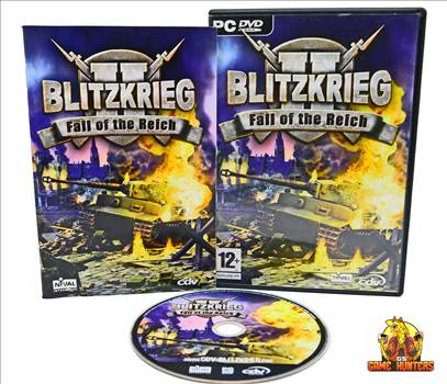 Blitzkrieg 2 Fall of the Reich Case, Manual & Disc.jpg by GSGAMEHUNTERS