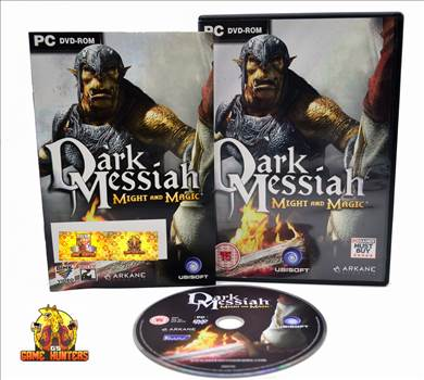 Dark Messiah Might and Magic Case, Manual (product key obscured) & Disc.jpg by GSGAMEHUNTERS