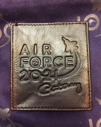 AIR FORCE A2 Leather Flight Jacket Patch by johntorcasio