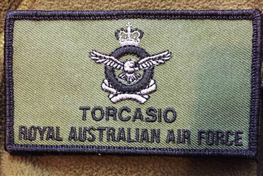 RAAF Crest Name Patch by johntorcasio