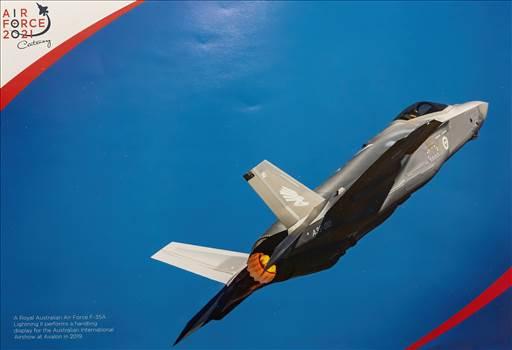 Royal Australian Air Force F-35A Lighting II  by johntorcasio