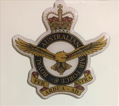 Royal Australian Air Force crest magnet by johntorcasio