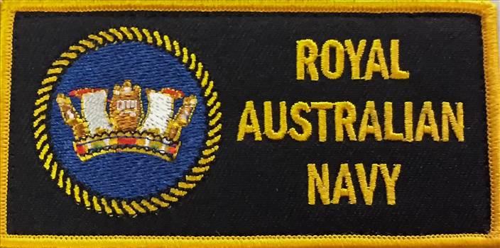 Royal Australian Navy DPNU Uniform Patch by johntorcasio