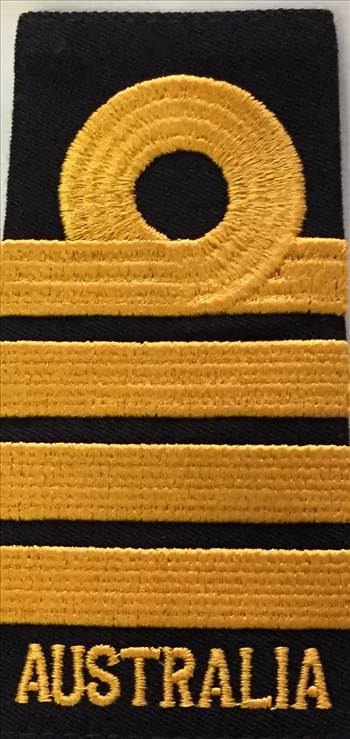 Captain Soft Rank Insignia (SRI) - Black eqaulettes by johntorcasio