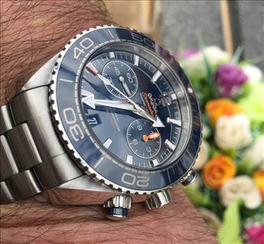 Omega Seamaster Planet Ocean Chrono by johntorcasio