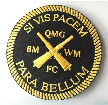 Navy SI VIS PACEM Embroidered Patch by johntorcasio