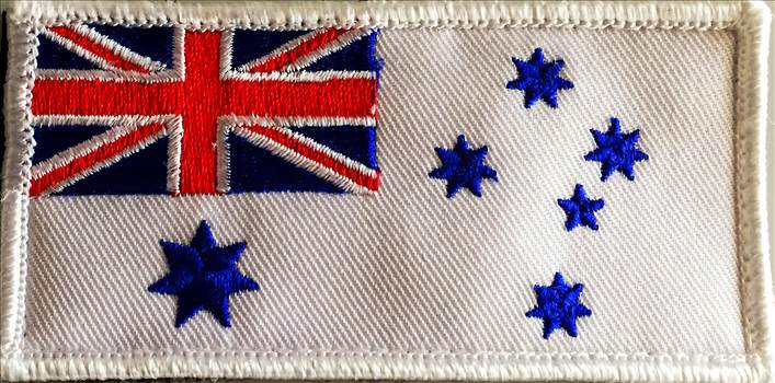 oyal Australian Navy Ensign embroidered by johntorcasio