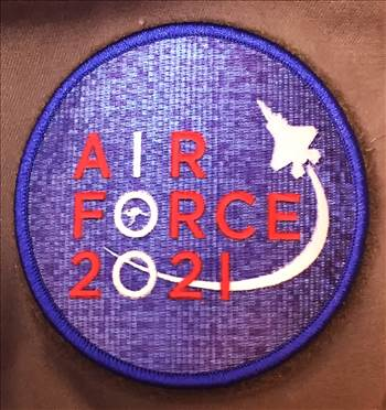Air Force 100 Embroidered Patch by johntorcasio