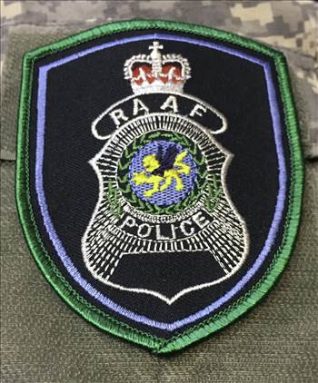 RAAF POLICE PATCH by johntorcasio