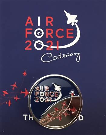 Air Force 100 Medallion  by johntorcasio