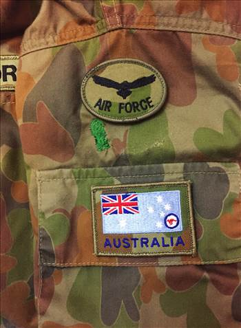 Royal Australian Air Force Biscuit Patch for DPCU Uniform by johntorcasio