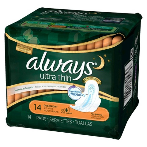 Always Ultra Thin 10 hr leakguard protection 14 count overnight 2.jpg  by BudgetGeneral