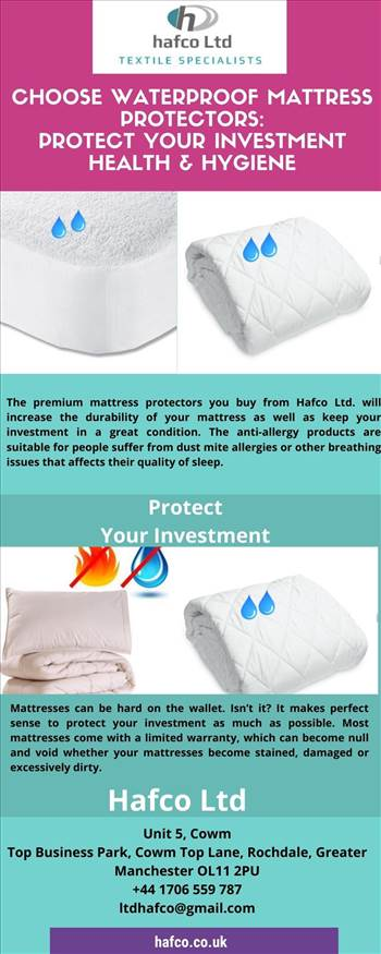 Choose Waterproof Mattress Protectors_ Protect Your Investment, Health & Hygiene.jpg by hafcoltduk