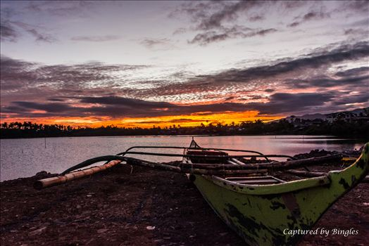 Sunset at Sorsogon Pier by Bingles