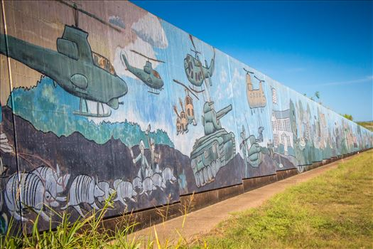 Dam Mural Close-up by Charles Smith Photography