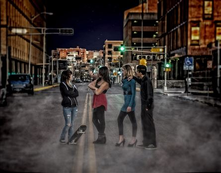 Rumble In The Road.jpg by NoraSue Photography