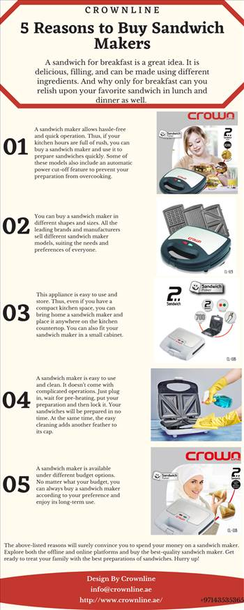 5 Reasons to Buy Sandwich Makers.png by crownline