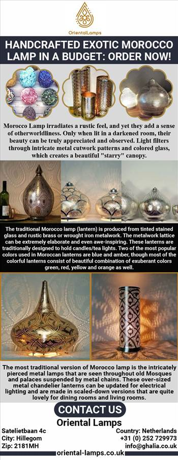 Handcrafted Exotic Morocco Lamp in a Budget Order Now!.jpg by orientallamps