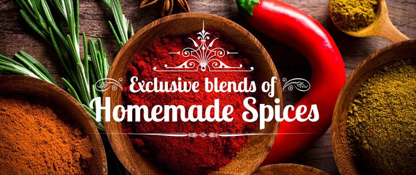 Exclusive Blends of Homemade Spices by bhojantree