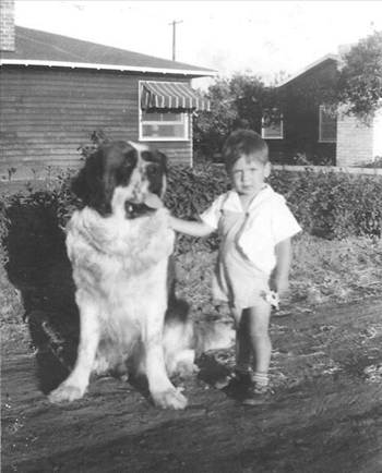 jerry with dog1951.jpg by WPC-372