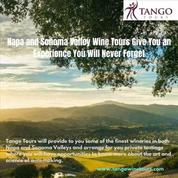 Napa and Sonoma Valley Wine Tours Give You an Experience You Will Never Forget by Tangowinetours