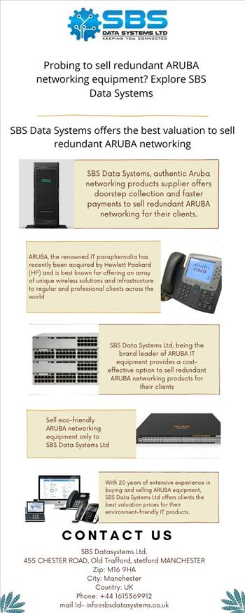Probing to sell redundant ARUBA networking equipment Explore SBS Data Systems.jpg by Sbsdatasystems