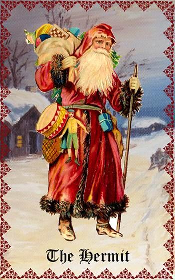 CHRISTMAS_TAROT_HERMIT.jpg by Mediumystics