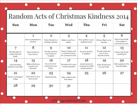 Random-Acts-of-Christmas-Kindness-Printable-Calendar-for-Kids.jpg by Mediumystics