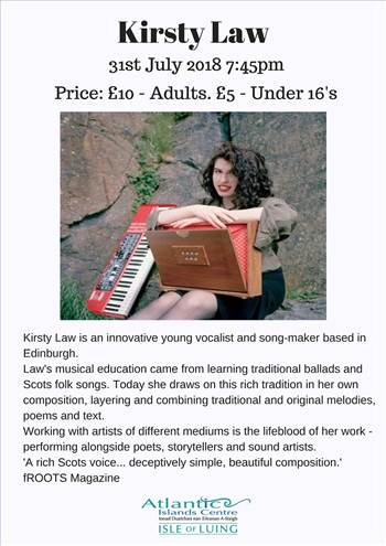 Kirsty Law Gig poster.jpg by Allan