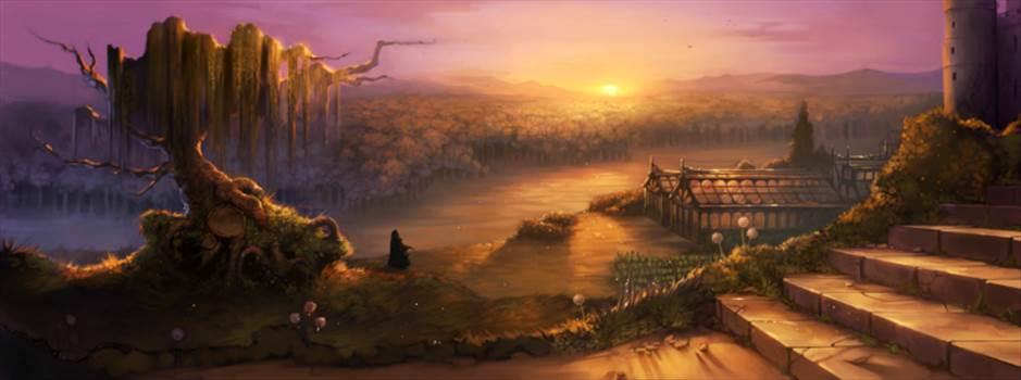 WhompingWillow_B1C13M2_TheHoodedFigureHogwartsGrounds.png by Seductive Hogwarts Mule