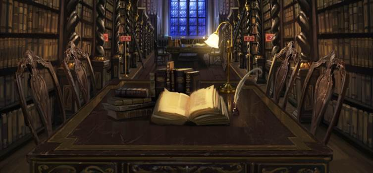 LibraryPottermore.png by Seductive Hogwarts Mule