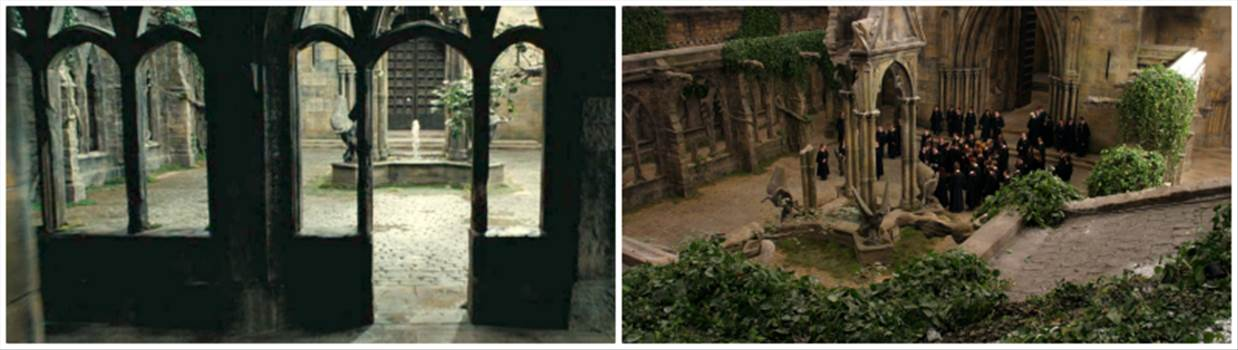 courtyard.png by Seductive Hogwarts Mule