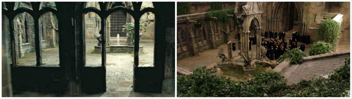 courtyard.png by Seductive Hogwarts Mule