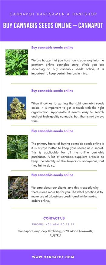 Buy cannabis seeds online - Cannapot.jpg by Cannapot