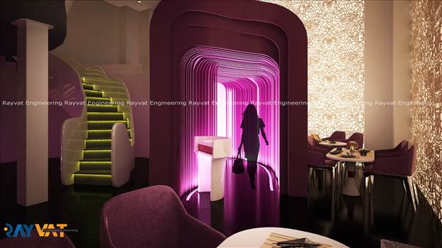 3D Interior Designing Restaurants.jpg by Rayvatengineering