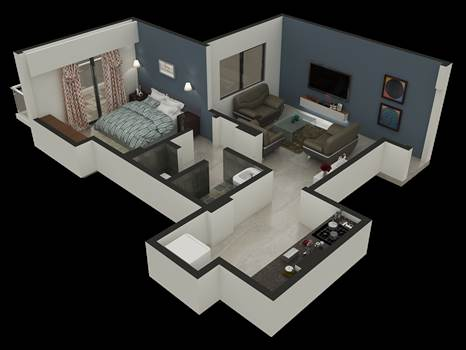 3D Floor Plan Design by Rayvatengineering