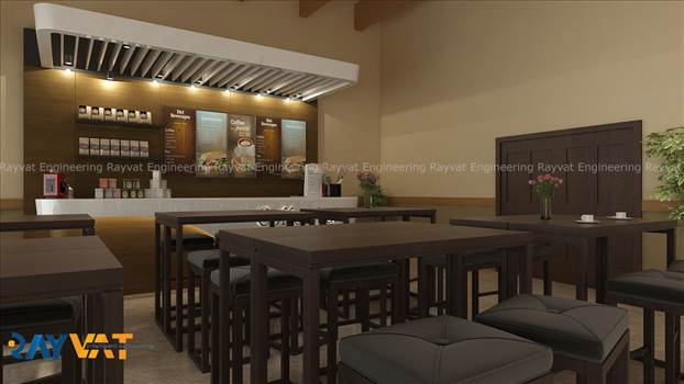 3D Interior Rendering Cafe.jpg - http://www.rayvatengineering.com/3d-interiors/ - 3D Interior Rendering designer, you get the opportunity to see the flaws well before execution relatively reducing your turnaround time.