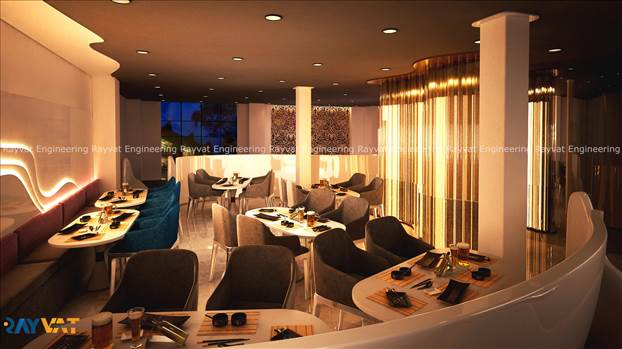 3D Interior Rendering Restaurants.jpg by Rayvatengineering