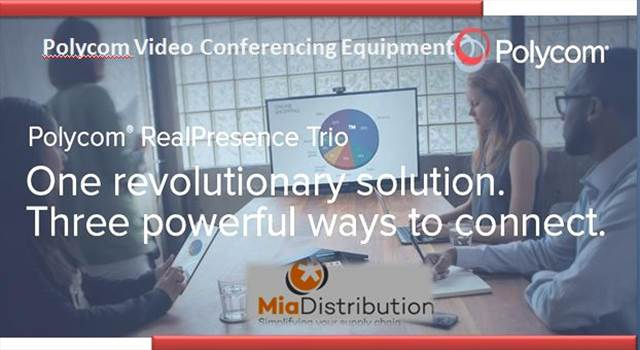 Polycom Video Conferencing Equipment.JPG by Miadistribution